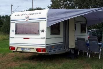 Hire a motorhome in Moormerland from private owners| TEC 4pfotencaravan2