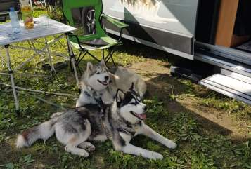 Hire a motorhome in Schwäbisch Gmünd from private owners| Pössel Husky Mobil