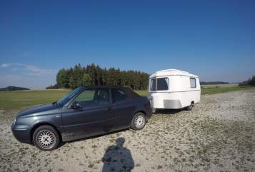 Hire a motorhome in Landshut from private owners| Eriba Herbert