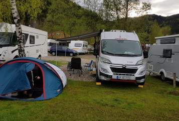 Hire a motorhome in Sailauf from private owners| Pössel  Winnetou