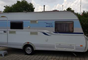 Hire a motorhome in Nennslingen from private owners| Knaus Tabbert Sina