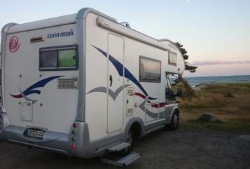 Hire a motorhome in Parchim from private owners| Eura Mobil Eura