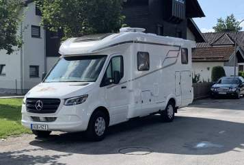 Hire a motorhome in Bad Aibling from private owners  Hymer  Wambo