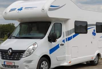 Hire a motorhome in Am Mellensee from private owners| Renault Ahorn 660