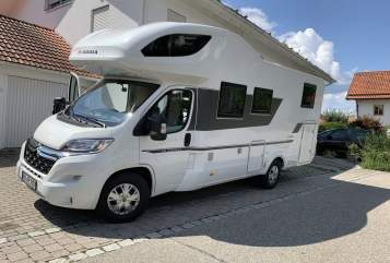 Hire a motorhome in Bruckmühl from private owners| Adria Idylltogo