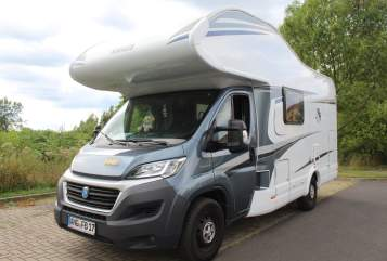 Hire a motorhome in Angermünde from private owners| Knaus Moby-Dick