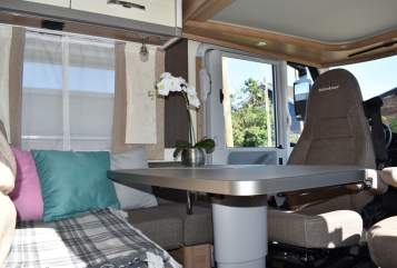Hire a motorhome in Luckenwalde from private owners  Bürstner Wohlfühloase!
