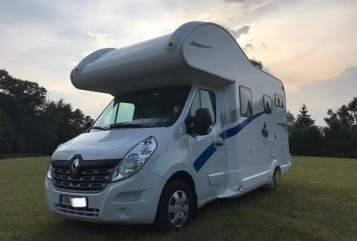 Hire a motorhome in Eurasburg from private owners| Ahorn JOY and SUN