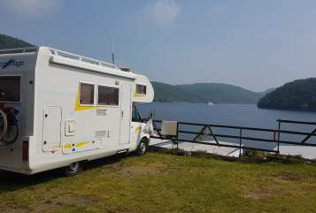 Hire a motorhome in Langenberg from private owners| Carthago Mr. BEAM
