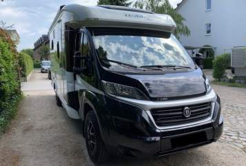Hire a motorhome in Seevetal from private owners  Hobby T65 GE Heideshuttle