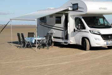 Hire a motorhome in Uelzen from private owners  Hymer Etrusco  Karlchen