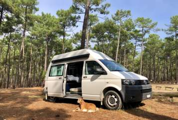 Hire a motorhome in Zürich from private owners| VW Travel2explore