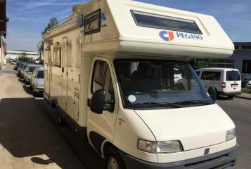 Hire a motorhome in Bamberg from private owners| Fiat Ducato Pegaso Pegaso