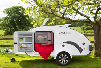 Hire a motorhome in Stuttgart from private owners| Basogl. Caretta 1500 Teardrop II