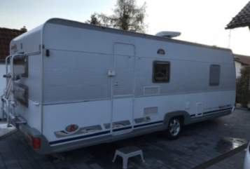 Hire a motorhome in Gauting from private owners| Dethleffs Dicke Frieda