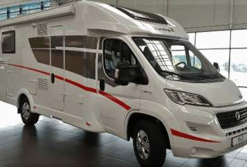 Hire a motorhome in Katlenburg-Lindau from private owners| Sunlight Whitepearl