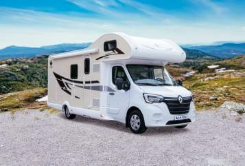 Hire a motorhome in Hildesheim from private owners  Ahorn Family-Camper