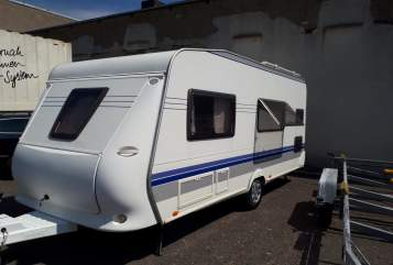 Hire a motorhome in Schwerin from private owners| Hobby Holly Hobby
