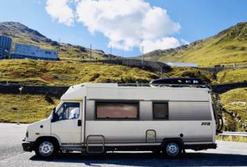 Hire a motorhome in St. Johann from private owners  Fiat Ducato  Tabbert