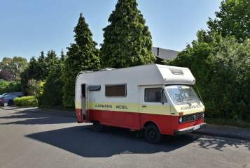 Hire a motorhome in Sendenhorst from private owners| VW LT 28 Erna