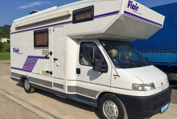 Hire a motorhome in Mieming from private owners| Niesmann & Bischoff KULTI