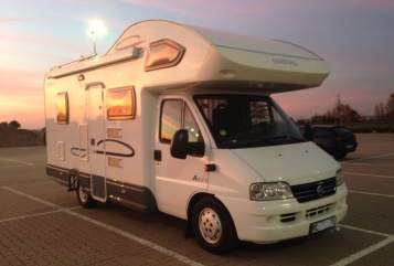 Hire a motorhome in Lengede from private owners| Cristall Sunshine Mobil