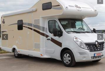 Hire a motorhome in Paderborn from private owners| Ahorn Canada AD