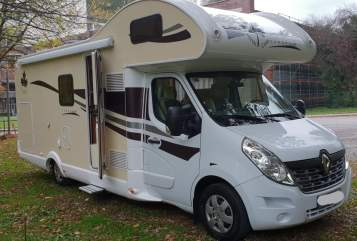 Hire a motorhome in Düsseldorf from private owners  Ahorn Tante May