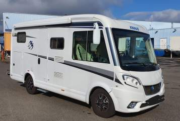 Hire a motorhome in Hüfingen from private owners| Knauss Klara