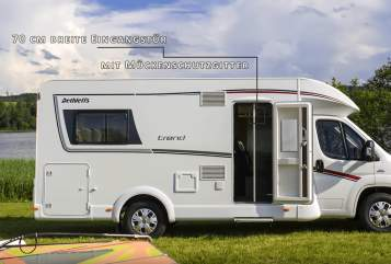 Hire a motorhome in Verl from private owners| Dethleffs Der Abenteurer