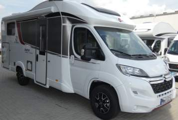Hire a motorhome in Jena from private owners| Bürstner  Bürstner