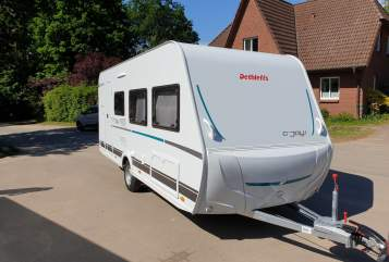 Hire a motorhome in Münster from private owners| Dethleffs Wohndose