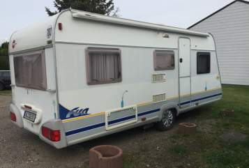 Hire a motorhome in Seevetal from private owners| Bürstner fun Bürsti