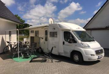 Hire a motorhome in Wankendorf from private owners| Fiat Michi´s Camper