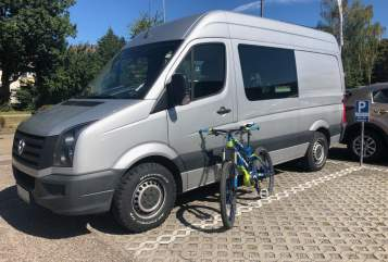 Hire a motorhome in Ettlingen from private owners| VW Bertha