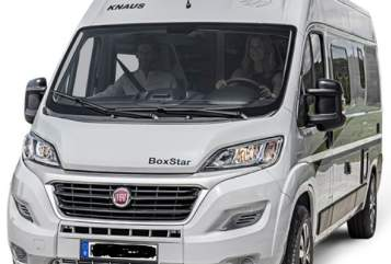 Hire a motorhome in Seubersdorf in der Oberpfalz from private owners| Knaus BINO 4