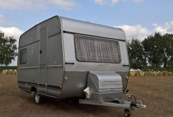 Hire a motorhome in Berlin from private owners| Tabbert Back to 70's