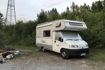 Hire a motorhome in Bad Tölz from private owners| Dethleffs Rudi