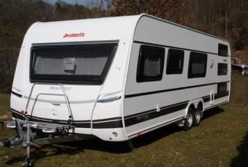 Hire a motorhome in Mechernich from private owners| Dethleffs FamiWoWa DiDi