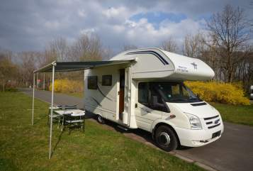 Hire a motorhome in Leipzig from private owners| LMC  Liberty