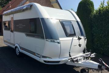 Hire a motorhome in Ahlen from private owners  Hobby Marius-Maria