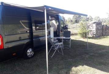 Hire a motorhome in Nauheim from private owners| Karman Marie