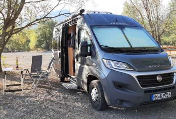 Hire a motorhome in Iserlohn from private owners| Pössl RüBe