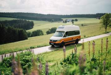 Hire a motorhome in Gießen from private owners| Volkswagen Crafti