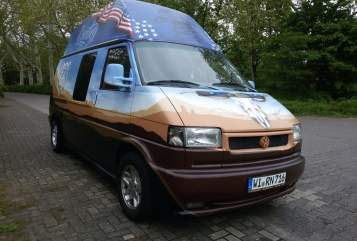 Hire a motorhome in Wiesbaden from private owners  VW Monsterchen