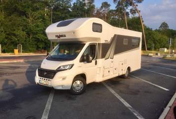 Hire a motorhome in Werne from private owners| Frankia Konrad
