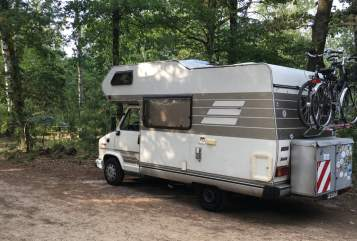 Hire a motorhome in Warendorf from private owners| Hymer Brummi