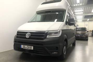 Hire a motorhome in Solingen from private owners| Volkswagen Hey Camper. neu