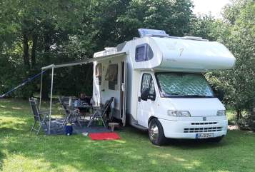 Hire a motorhome in Meine from private owners  Fiat/Knaus White