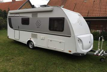 Hire a motorhome in Schinkel from private owners| Knaus Dieter II